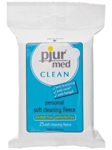 Přípravky a pomůcky pro intimní hygienu: Vlhčené ubrousky pro intimní hygienu Pjur