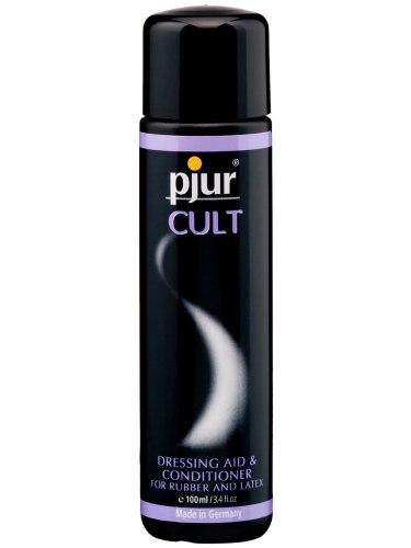 Údržba latexového prádla, laky, pudry: Pjur CULT - pro snadné oblékání gumy a latexu