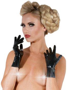 Krátké latexové rukavice – Latexové prádlo a oblečení pro ženy