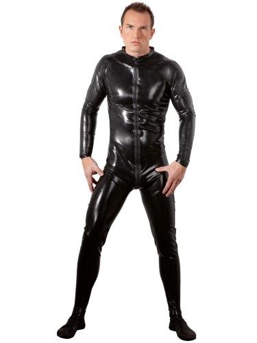 Latexové oblečení pro muže: Latexový overal pro muže
