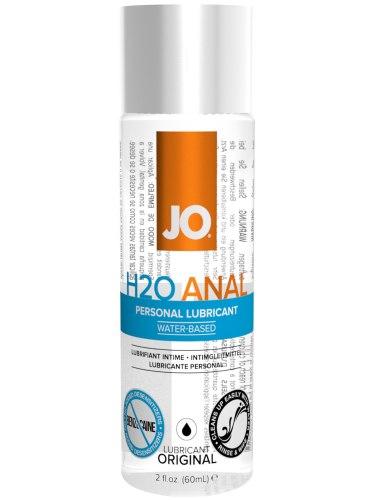 Lubrikační gely na anální sex: Anální lubrikační gel System JO H2O, 60 ml
