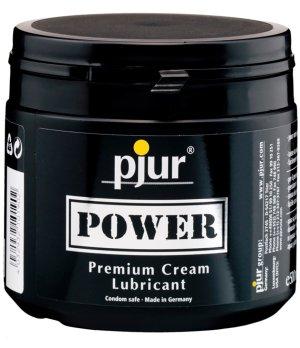 Krémový hybridní lubrikant Pjur Power – Hybridní lubrikační gely