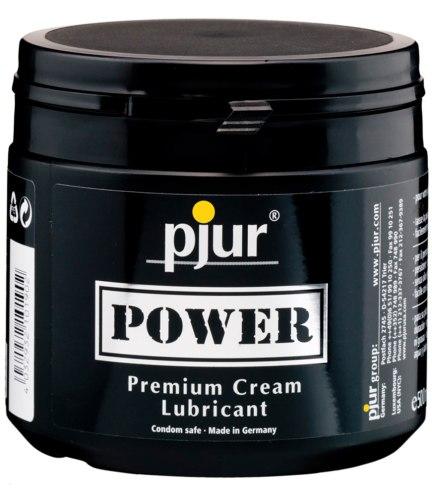 Hybridní lubrikační gely: Krémový hybridní lubrikant Pjur Power