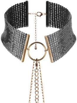 Obojek - náhrdelník Désir Métallique, černý – Úžasné ozdoby na krk a ozdobné obojky