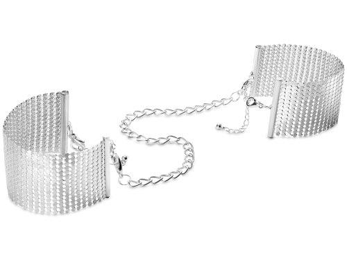 Vzrušující intimní šperky, ozdoby a bižuterie: Pouta - náramky Désir Métallique, stříbrná