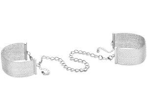 Pouta - náramky Magnifique, stříbrná – Ozdobná pouta na ruce (náramky)