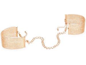 Pouta - náramky Magnifique, zlatá – Ozdobná pouta na ruce (náramky)