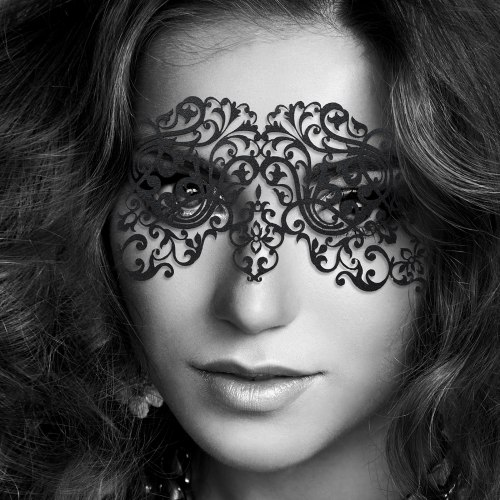 Tajemné i vzrušující škrabošky, masky a čelenky: Škraboška Dalila
