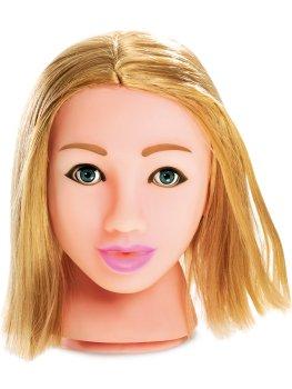 Něžná blondýnka - masturbátor Fuck My Face – Realistické silikonové masturbátory a torza