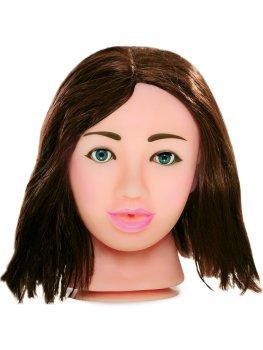 Sexy brunetka - masturbátor Fuck My Face – Realistické silikonové masturbátory a torza