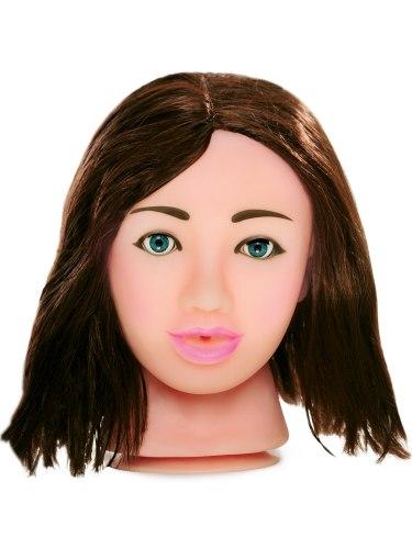 Realistické silikonové masturbátory a torza: Sexy brunetka - masturbátor Fuck My Face