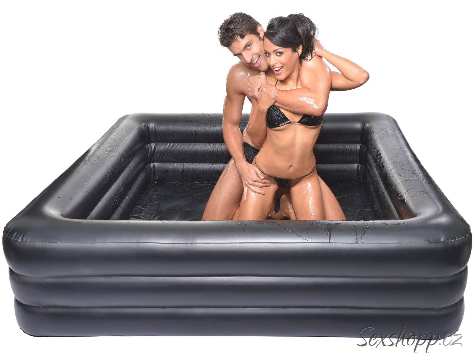 Nafukovací bazén na mokré hrátky