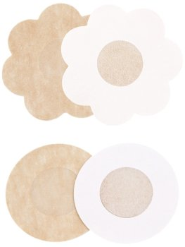 Diskrétní nálepky na bradavky, 1 pár – Samolepicí ozdoby na prsa a bradavky