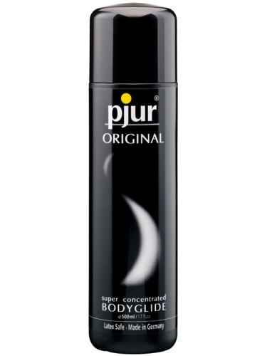 Lubrikační gely na silikonové bázi: Lubrikační a masážní gel Pjur Original, 500 ml