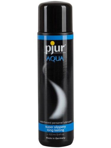 Lubrikační gely na vodní bázi: Lubrikační gel Pjur Aqua