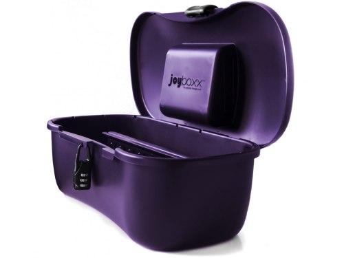 Tašky, kufříky na erotické pomůcky: Hygienický kufřík na pomůcky Joyboxx, fialový