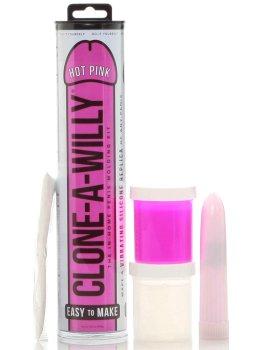 Odlitek penisu Clone-A-Willy Hot Pink - vibrátor