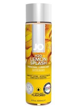 Lubrikační gel System JO H2O Citron – Lubrikační gely s příchutí a na orální sex