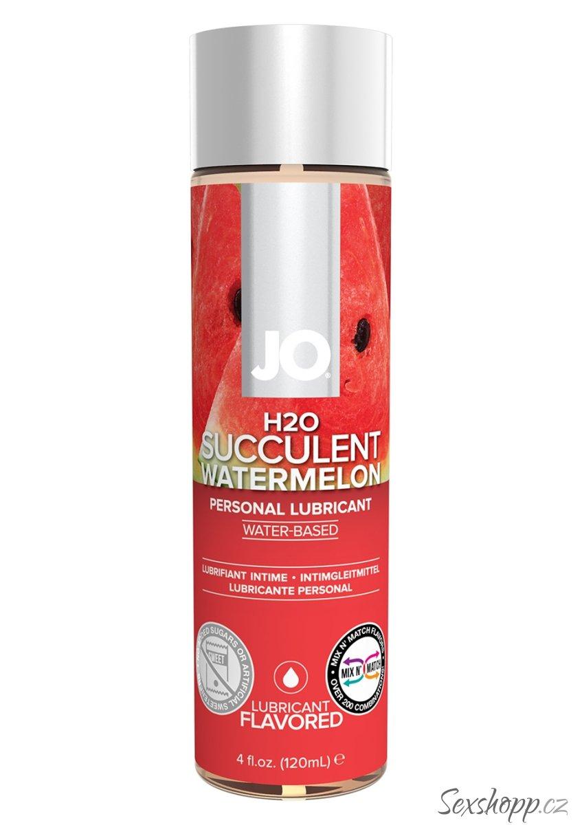 Lubrikační gel System JO H2O Vodní meloun