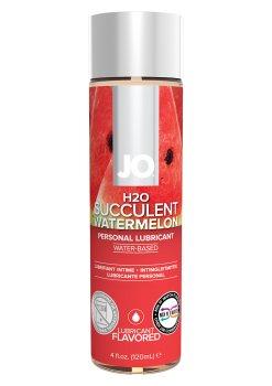 Lubrikační gel System JO H2O Vodní meloun – Lubrikační gely s příchutí (na orální sex)