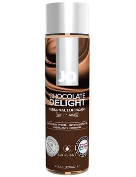 Lubrikační gel System JO H2O Čokoláda – Lubrikační gely s příchutí (na orální sex)