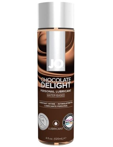 Lubrikační gely s příchutí a na orální sex: Lubrikační gel System JO H2O Čokoláda