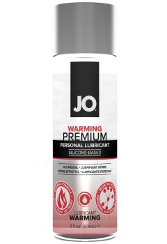 Silikonový lubrikační gel System JO Premium Warming - hřejivý – Lubrikační gely na silikonové bázi