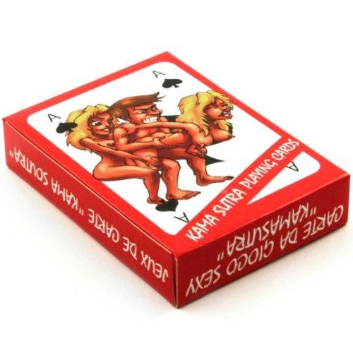 Erotické společenské hry: Hrací karty Kama Sutra