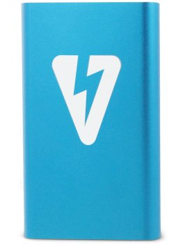 Powerbanka EroVolt PowerBank Blue, 8000 mAh – Baterie do erotických pomůcek, powerbanky