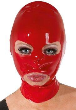 Latexová maska - červená, unisex – Latexové prádlo a oblečení pro ženy