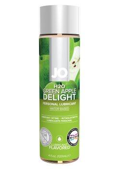 Lubrikační gel System JO H2O Zelené jablko – Lubrikační gely s příchutí a na orální sex
