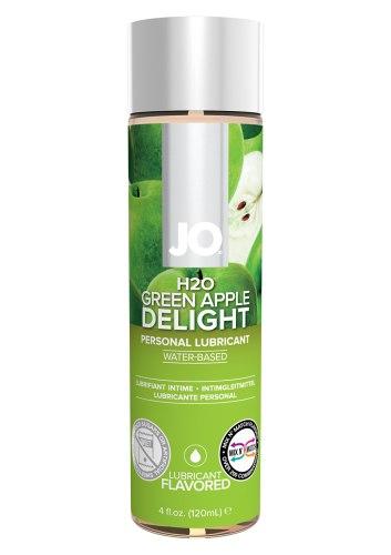 Lubrikační gely s příchutí a na orální sex: Lubrikační gel System JO H2O Zelené jablko