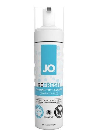 Dezinfekce, čistění pomůcek: Čisticí pěna na erotické pomůcky System JO Refresh Toy Cleaner, 207 ml