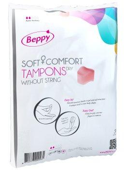 Menstruační houbičky Beppy DRY - klasické, 10 ks – Menstruační tampony (houbičky)