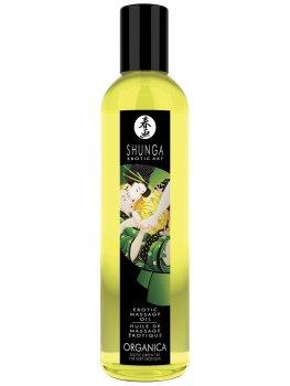 BIO Erotický masážní olej Green Tea Organica – Erotické masážní oleje, gely a emulze