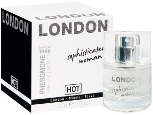 Parfém s feromony LONDON Sophisticated Woman – Feromony a parfémy pro ženy