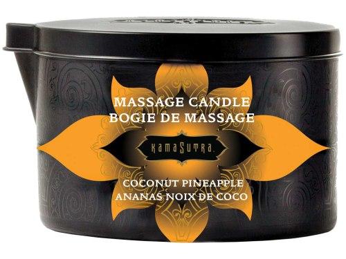 Masážní svíčky: Masážní olejová svíčka Ignite Coconut Pineapple