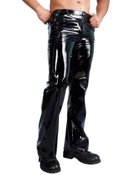 Lakované pánské kalhoty – Pánské lakované prádlo a oblečení (vinyl)