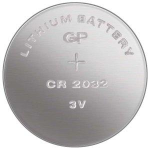 Knoflíková baterie CR2032, lithiová – Baterie do erotických pomůcek, powerbanky