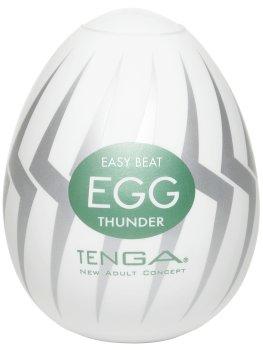 Masturbátory bez vibrací (honítka) - pro muže: Masturbátor TENGA Egg Thunder