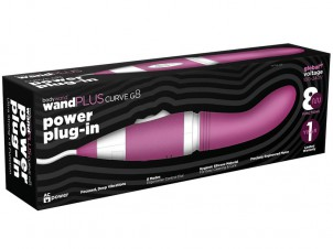 Vibrátor Bodywand WandPLUS Curve G8