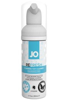 Čisticí pěna na erotické pomůcky System JO Refresh Toy Cleaner, 50 ml – Dezinfekce, čištění a údržba pomůcek