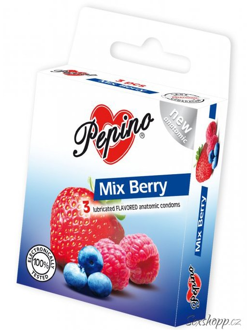 Kondomy Pepino Mix Berry