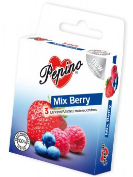 Kondomy Pepino Mix Berry – Kondomy s příchutí