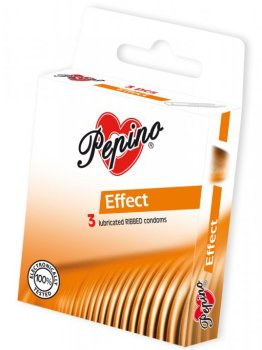Kondomy Pepino Effect – Kondomy s texturou (vroubky, tečky, proužky a další)
