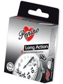Kondomy Pepino Long Action – Znecitlivující kondomy na oddálení ejakulace