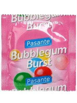 Kondom Pasante Bubblegum Burst – Kondomy s příchutí