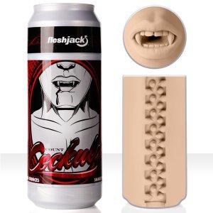 Umělá ústa Fleshjack COUNT COCKULA – Umělé zadečky a ústa