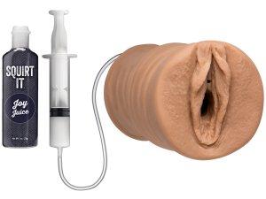 Stříkající vagina Squirt It Pussy – Nevibrační umělé vaginy, ústa a zadečky