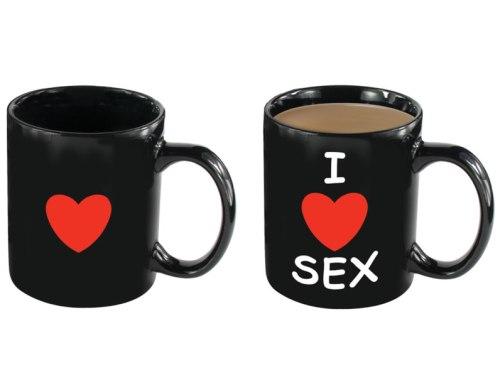 Kouzelný hrnek I LOVE SEX